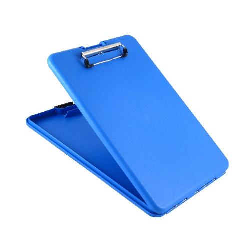 Saunders Slimmate Storage Clipboard - Letter/A4 00559 Blue