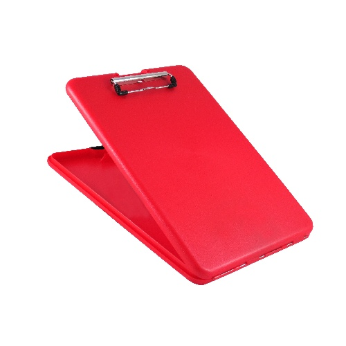 Saunders Slimmate Storage Clipboard - Letter/A4 00560 Red