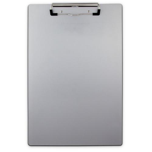 Saunders Aluminum Clipboard W/ Low Profile Clip 21511 Gray 9in. X 14.75in.