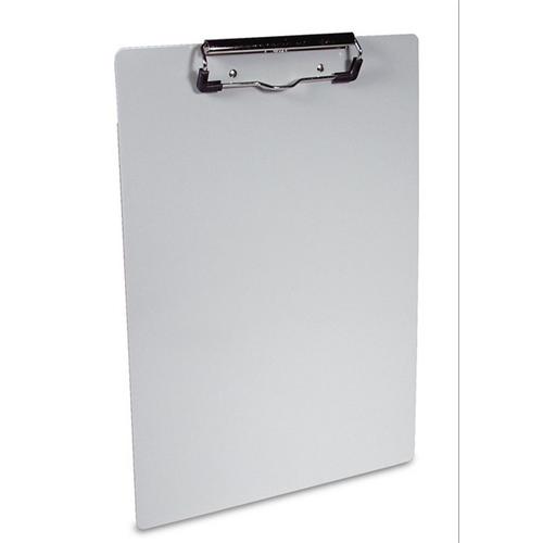 Saunders Aluminum Clipboard W/ Low Profile Clip 21517 Gray 8.5in. X 12in.