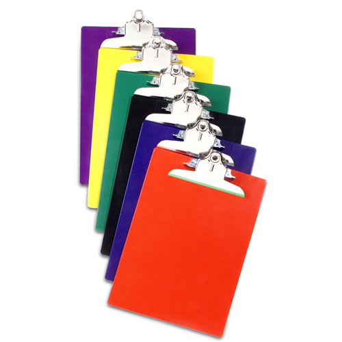 Saunders Recycled Plastic Clipboards - 12pk 21607