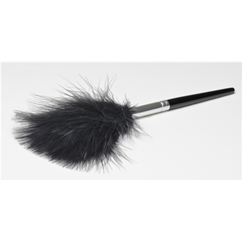Sirchie Black Marabou Feather Duster 123LB