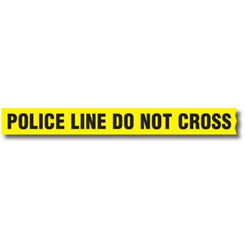 Sirchie Barrier Tape W/ Dispenser Box BT200 Police 3in. x 1000'