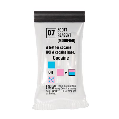 Sirchie NARK II Scott Reagent modified NARK2007 10 Cocaine Salts