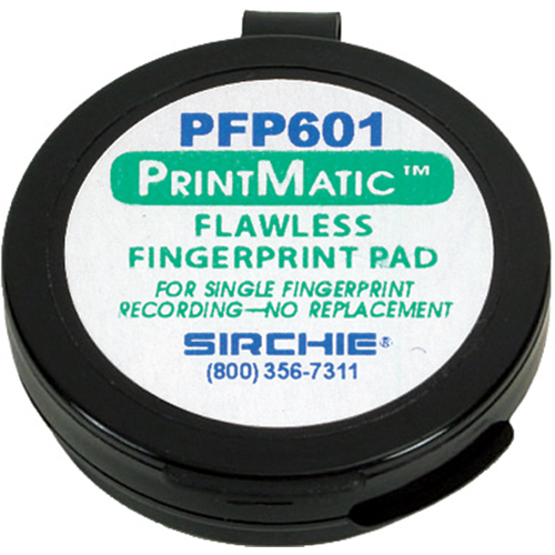 Sirchie PrintMatic Flawless Ink Pad PFP601