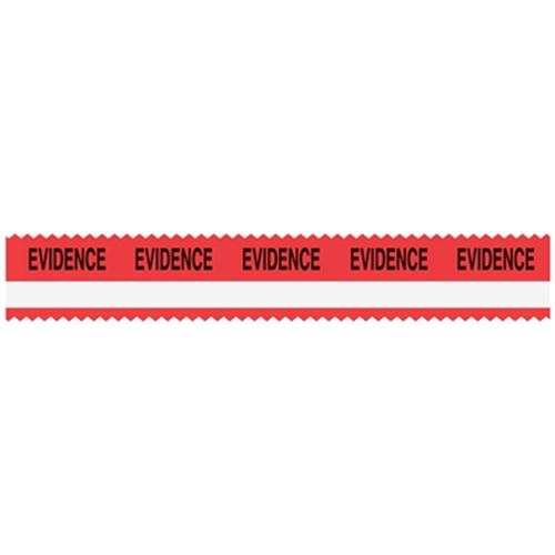 Sirchie SIRCHMARK Evidence Tape W/ White Stripe SM50002