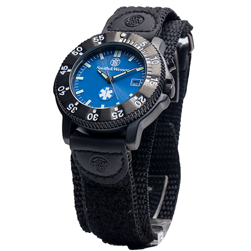 Smith & Wesson EMT Watch - Back Glow SWW-455-EMT