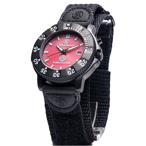 Smith & Wesson Fire Fighter Watch - Back Glow SWW-455F