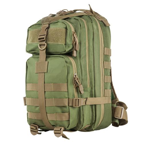 NcStar Small Backpack Green w/Tan Trim CBSGT2949