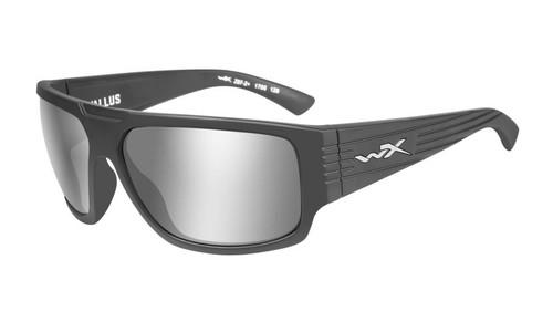 Wiley X WX Vallus ACVLS01 Matte Graphite Silver Flash