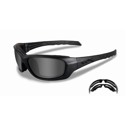 Wiley X Gravity Glasses CCGRA01 Matte Black Smoke Gray