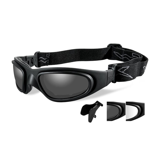 Wiley X Sg-1 Asian Fit Goggles SG-1M Clear/Matte Black Frame - Asian Fit