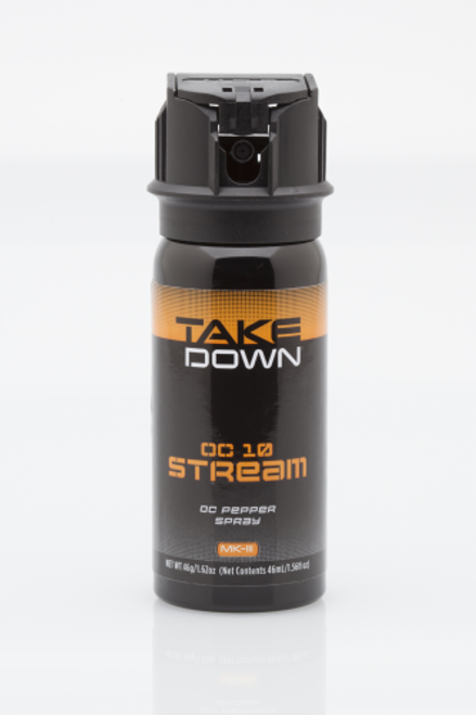MACE Takedown OC Pepper 3025 Black 10% OC 1.62 oz Stream