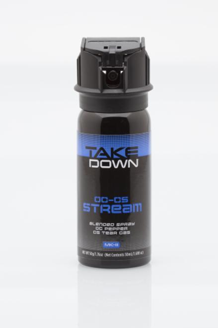 MACE Takedown OC Pepper 3030 Black OC/CS 1.76 oz Stream