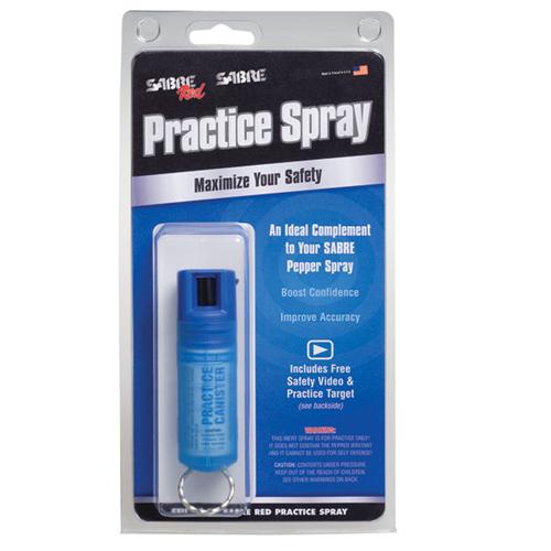 Sabre Practice Key Case Pepper Spray STU-HC-00