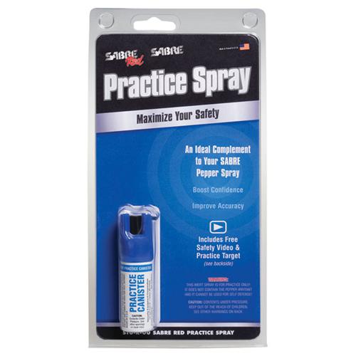 Sabre Practice Pepper Spray STU-R-00