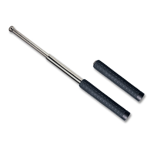ASP Friction Loc Baton 16in. Electroless with Wavemaster Grip 42213