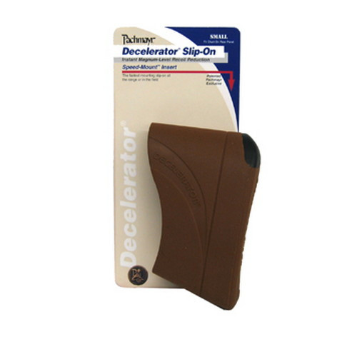 Pachmayr Decelerator Magnum Slip-On Recoil Pad Small Brown 04418