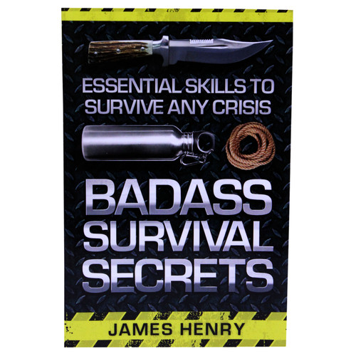 Proforce Equipment Books Badass Survival Secrets 44910