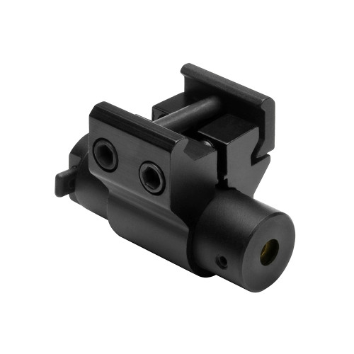 NcStar Compact Red Laser Sight with Weaver Mount Black ACPRLS