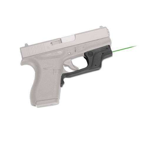Crimson Trace Laserguard Glock 42 43 (Gen 4) Laser Sight Green LG-443G-S