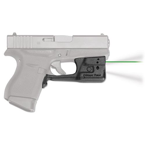 Crimson Trace Laserguard Pro Glock 42 43 Green LL-803G