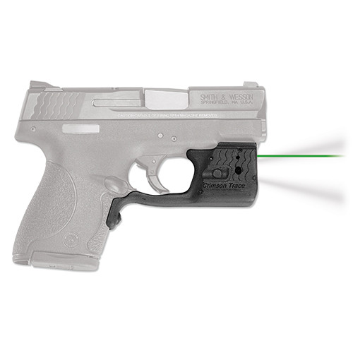Crimson Trace Laserguard Pro S&W M&P Shield Green & LED Light LL-801G