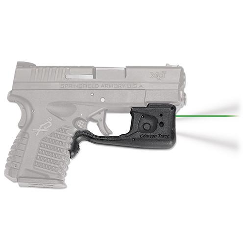 Crimson Trace Laserguard Pro Springfield XD-S Laser Sight Green LL-802G