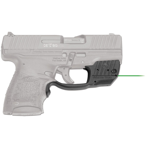 Crimson Trace Laserguard for Walther PPS M2 Green Laser Boxed Polymer Blacl LG-482G