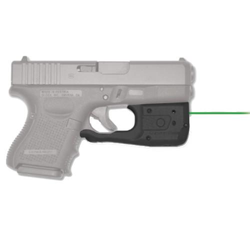Crimson Trace Laserguard Pro for Glock Gen 3 & 4 26 27 29 30 33 36 39 Green Laser Boxed LL-810G