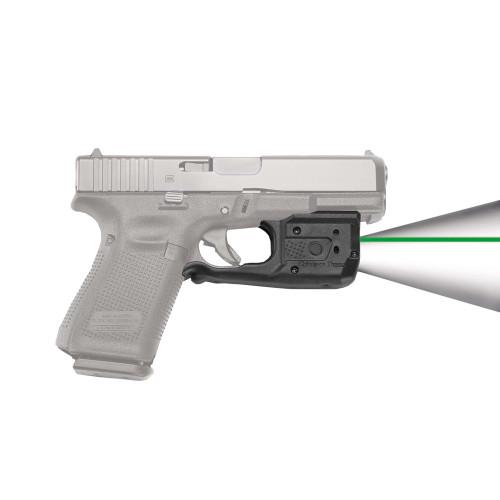 Crimson Trace Laserguard Pro Glock 17 19 22 35 37 38 Gen 3/4 Green LL-807G