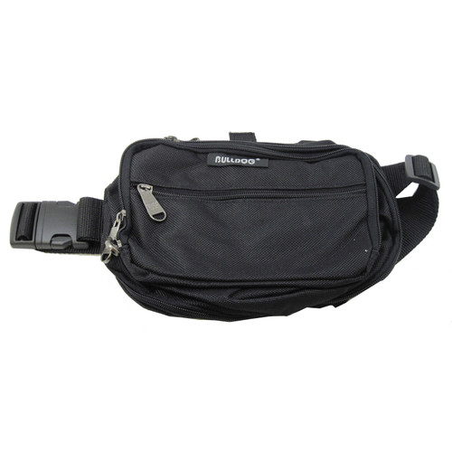 Bulldog Cases Medium Fanny Pack Holster Black with Black Trim BD860