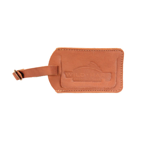 Peregrine Wild Hare Leather Luggage Tag Dusk  WH-585L-DK