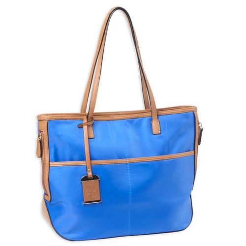 Bulldog Cases Tote Style Nylon Purse w/ Holster Blue BDP-057