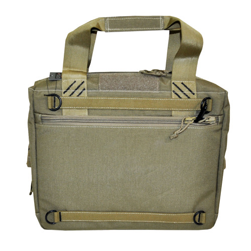 G Outdoors Tactical Cooler w/ Handgun Storage Tan GPS-T1615COT