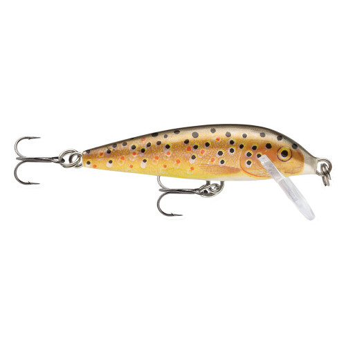 Rapala CountDown Lure Size 07 -  2 3/4in. Brown Trout CD07TR