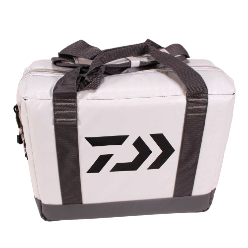 Daiwa Soft Sided Cooler (14in. x 12in. x 7in.) White DCCS-12C