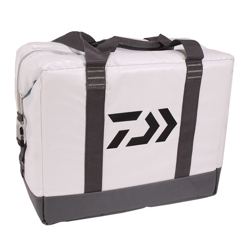 Daiwa Soft Sided Cooler (17in. x 14in. x 9in.) White DCCS-24C