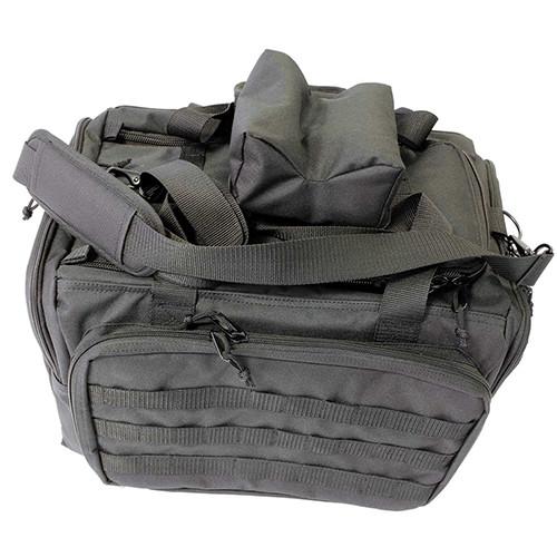 SportLock Range Bag Deluxe Black Nylon with Rest 06844