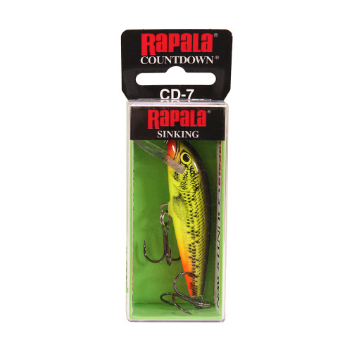 Rapala CountDown Lure Size 07 -  2 3/4in. Fire Minnow CD07FMN