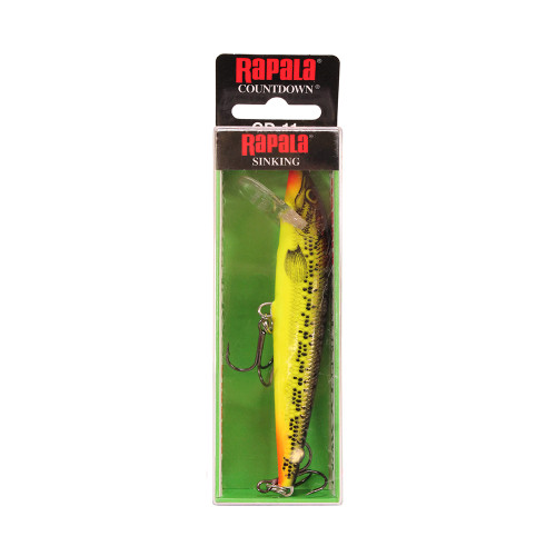 Rapala CountDown Lure Size 11 -  4 3/8in. 9ft.-13ft. Fire Minnow CD11FMN