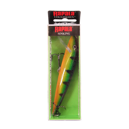 Rapala CountDown Lure Size 11 -  4 3/8in. 9ft.-13ft. Perch CD11P
