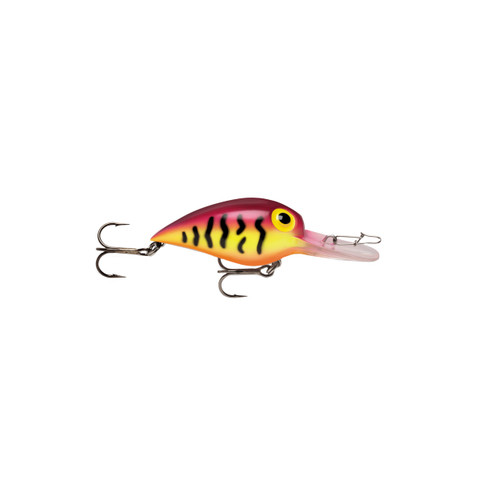 Storm Original Wiggle Wart Lure 2in. Purple Tiger V82