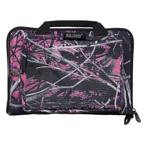 Bulldog Cases Mini Muddy Girl Range Bag Pink Camo & Black BD915MDG