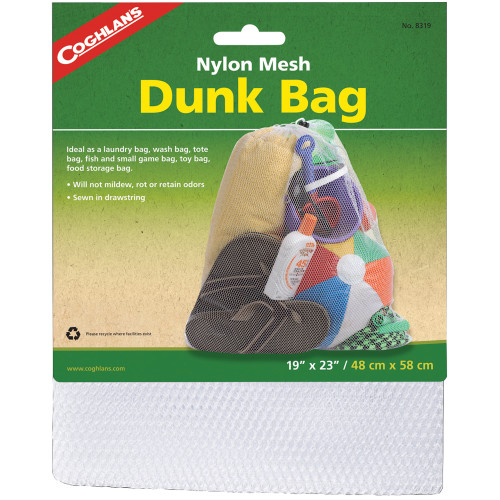 Coghlans Nylon Mesh Dunk Bag (19in. x 23in.) 8319