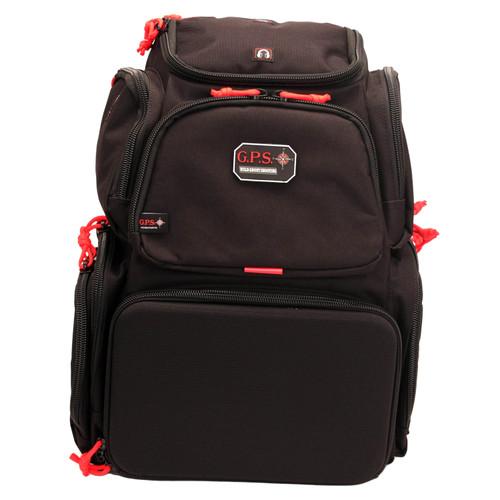 G Outdoors Handgunner Backpack Black GPS-1711BP