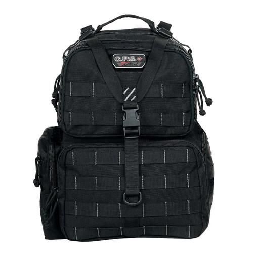 G Outdoors Tactical Range Backpack Black GPS-T1612BPB