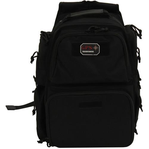 G Outdoors Executive Backpack Black GPS-1812BPB