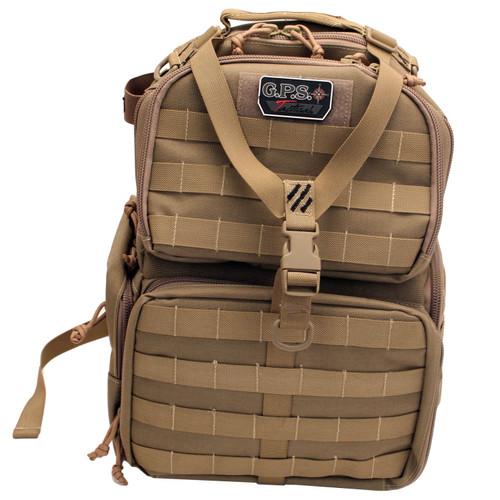 G Outdoors Tactical Range Backpack Tan GPS-T1612BPT