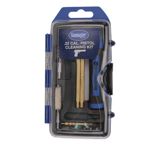 Gunmaster 14-Piece Pistol Cleaning Kit with 6-Piece Driver Set .22 Caliber GM22P